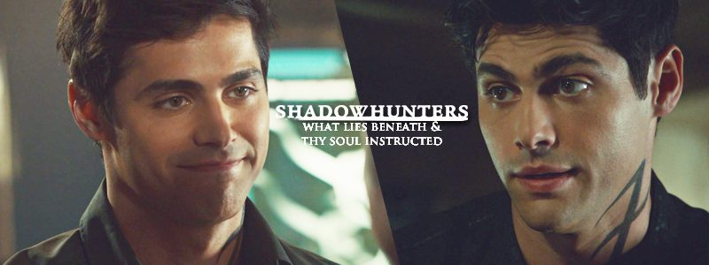 "Shadowhunters: 3.03 ""What Lies Beneath"" & 3.04 ""Thy Soul Instructed"" Screencaptures"